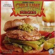chile lime burgers