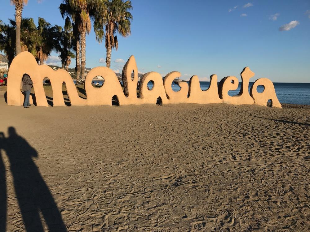 Malagueta beach Spain