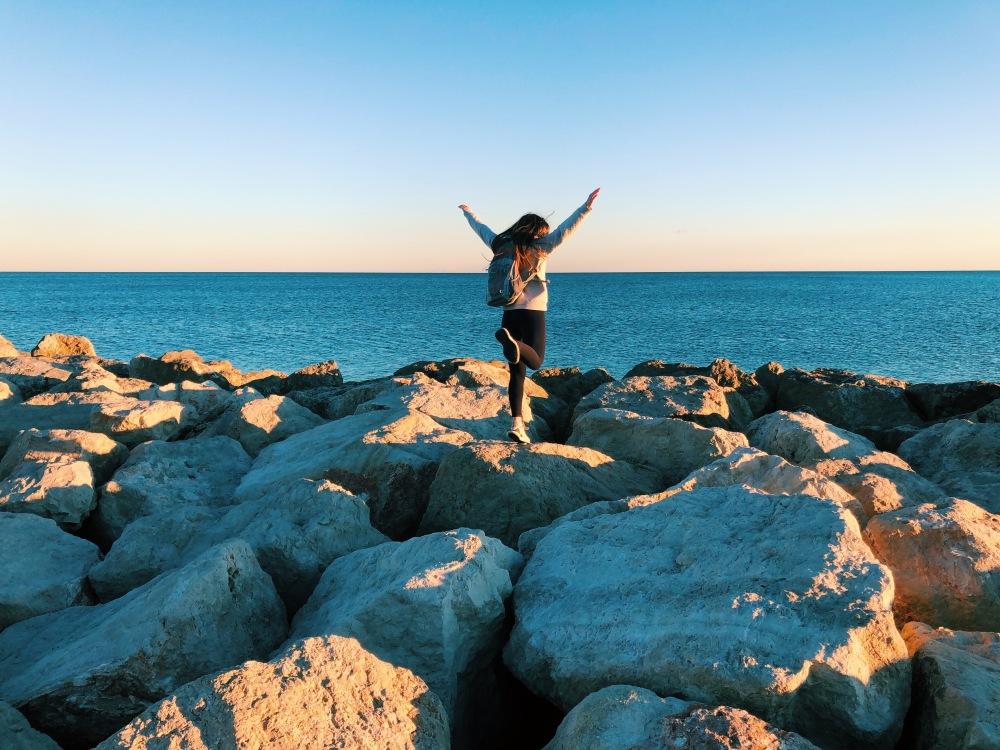 Rocks at Malagueta Beach